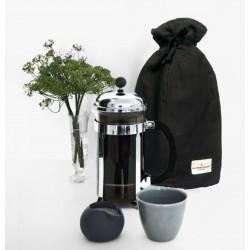 Kaffehætte - sort