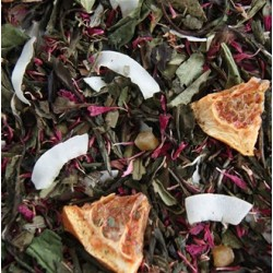 Te - Hvid-Grøn, Carribbean Passion