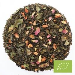 Chaplon te - Hvid/grøn kvæde - løsvægt