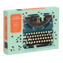 Puslespil - Vintage Typewriter shaped