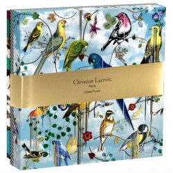 Puslespil - Christian Lacroix fugle - 2 sidet