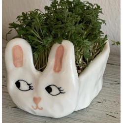 Sød påskehare i porcelæn