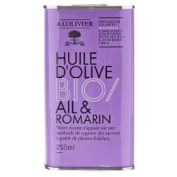Økologisk olivenolie Hvidløg & rosmarin