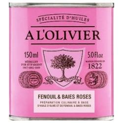 Olivenolie Fennikel & Rosa peber