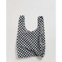 Baggu Shopper Black Checkerboard
