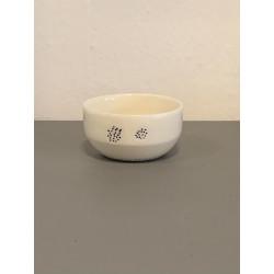 Håndlavet saltkar, keramik