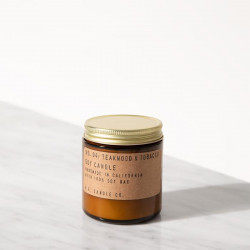 P.F. Candle co - 04 Teakwood & tobacco