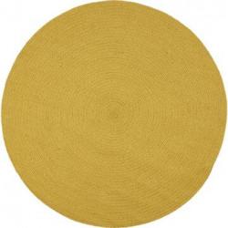 Bomuldstæppe - Recykle - Gul