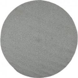 Bomuldstæppe - Recykle - Grå Ø130 cm