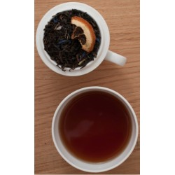 Sort, Pu erh Lemon Vanilje