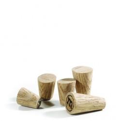 Magneter i egetræ.
