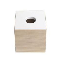 Oak men - lille boks i egetræ, med hvid låg